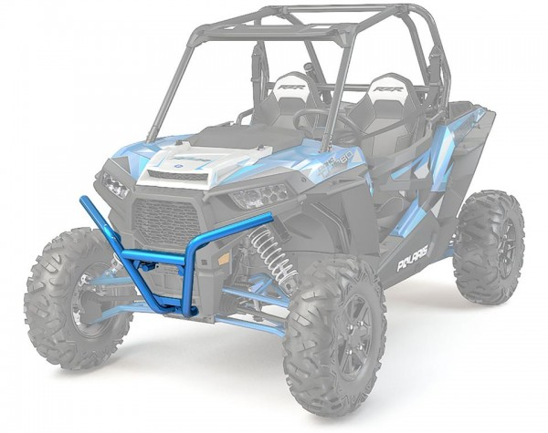 RZR Frontbumper Low Profile Velocity Blue
