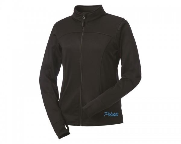 Polaris Damen Zip-Jacke schwarz