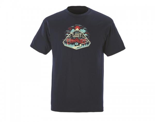 Polaris Herren Exhaust T-Shirt navy
