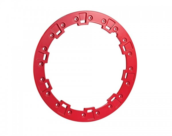 "Polaris Beadlock Ring 15"" Indy Red"