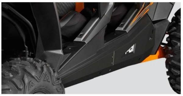 RZR XP 4 Rock Sliders Low Profile Black