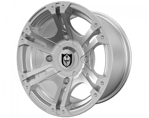 Polaris Alufelge Sixr Machined vorne 14x7