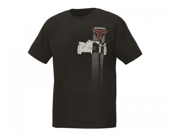 Slingshot Herren Keep Up T-Shirt schwarz