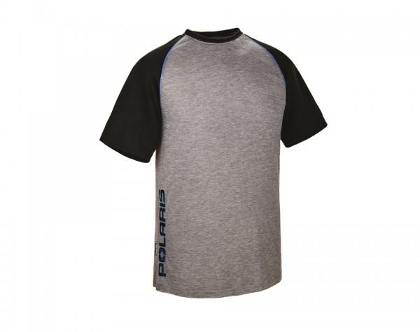 Polaris Herren T-Shirt schwarz/blau