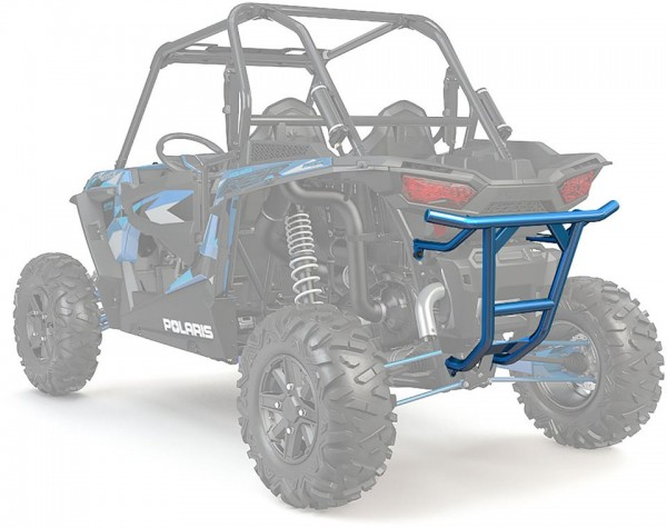 RZR Heckbumper Low Profile Velocity Blue