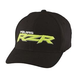 RZR Logo Cap schwarz/lime L-XL