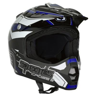 SPEEDS CROSS III schwarz/blau/weiss glänzend