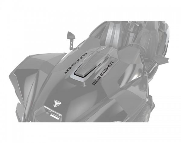 Slingshot Aufkleber Motorhaube Turbo Silver