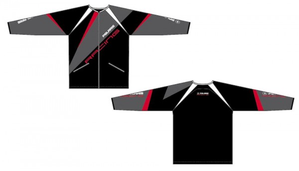Polaris Racing Jersey schwarz-rot