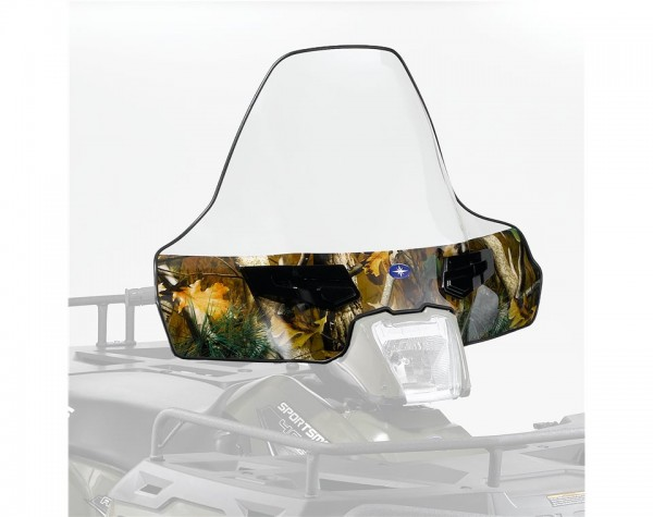 Lock & Ride Windschild hoch camo