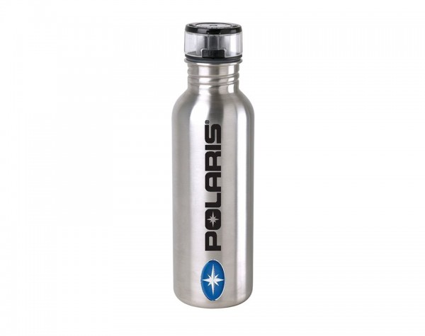 Polaris Wasserflasche silber