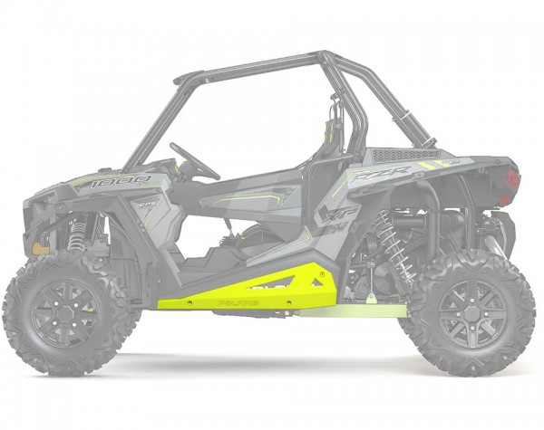 RZR Rock Sliders Low Profile Lime Squeeze