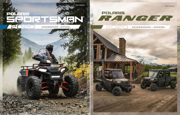 2020 Zubehörkatalog Polaris Sportsman + Ranger (Papierform)