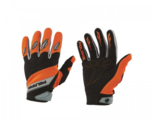 Polaris Off-Road Handschuhe orange