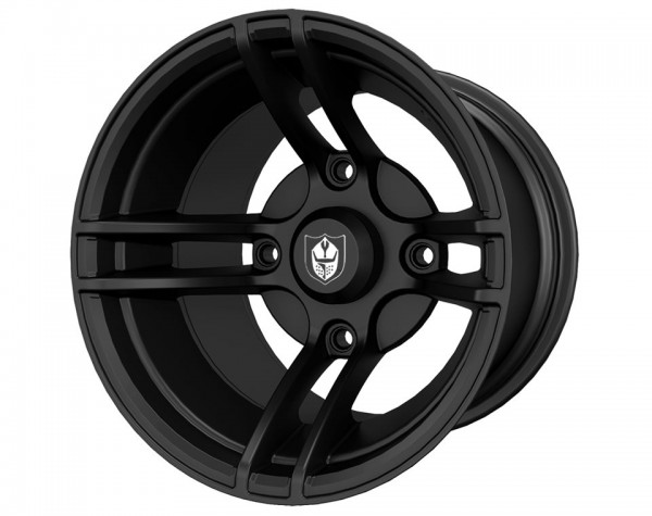 Polaris Alufelge Whiteout Matte Black 14x10