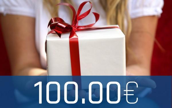 Wertgutschein Onlineshop 100€