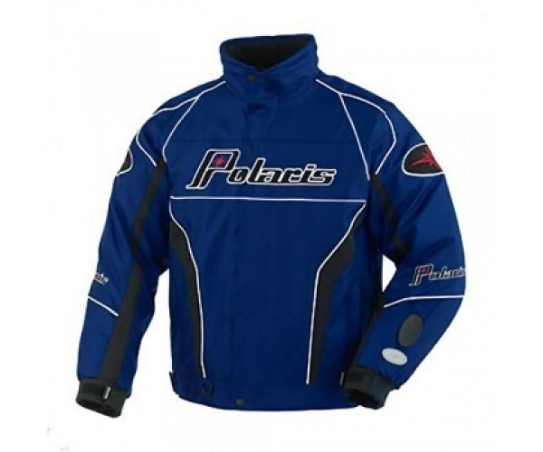 Polaris Retro Ripper Winter Schneemobil Jacke blau 2XL