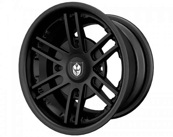 Polaris Alufelge Lyte Matte Black hinten 14x10-Copy