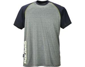 Polaris Herren T-Shirt grau/navy