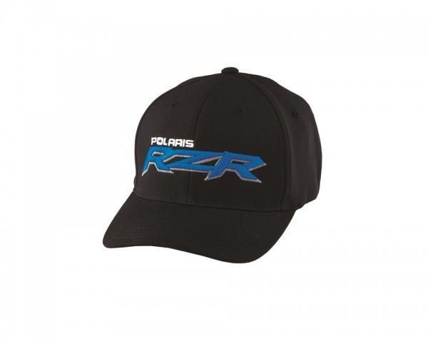 RZR Logo Cap schwarz/blau S-M