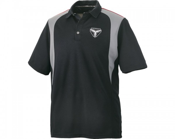 Slingshot Herren Poloshirt schwarz