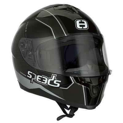 SPEEDS RACE II Grafik schwarz/titan/silber