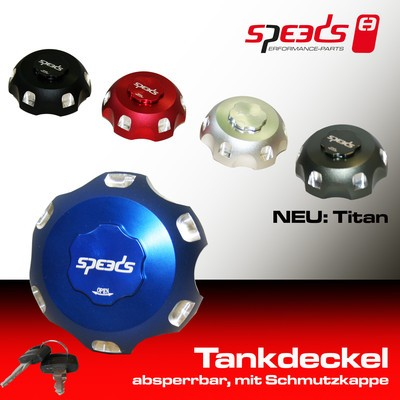 SPEEDS Tankdeckel absperrbar