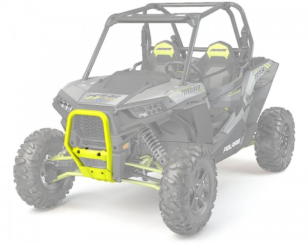 RZR Frontbumper Bull Lime Squeeze