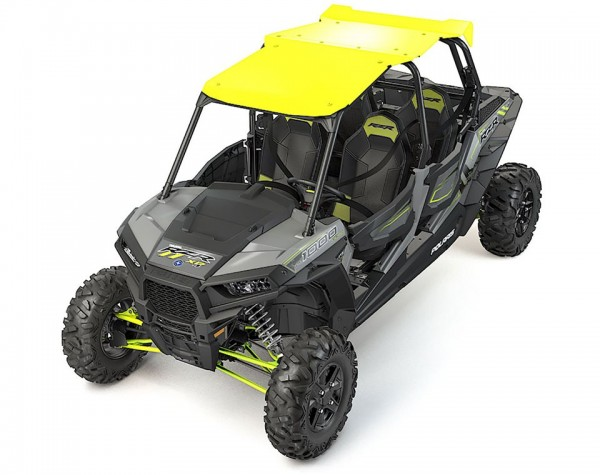 RZR 4 Aluminiumdach Lime Squeeze
