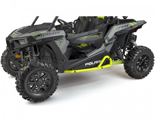 RZR Rock Sliders Extreme Kick-Out Lime Squeeze