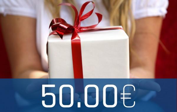 Wertgutschein Onlineshop 50€