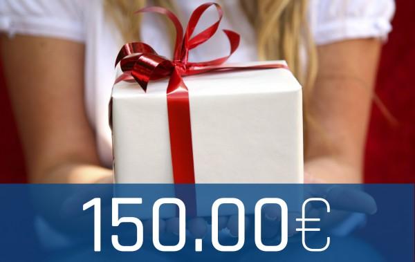 Wertgutschein Onlineshop 150€