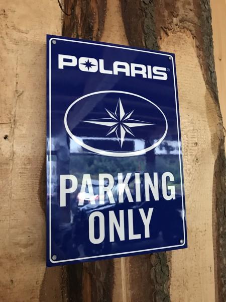 Polaris Parking Only Schild