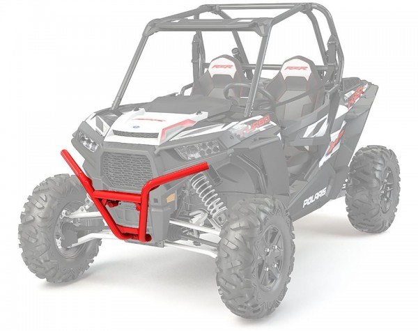 RZR Frontbumper Low Profile Indy Red