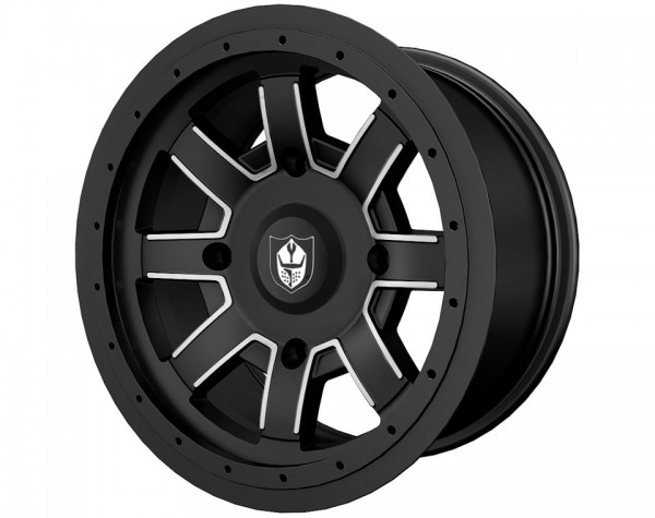 Polaris Alufelge Reblr Black vorne 14x7