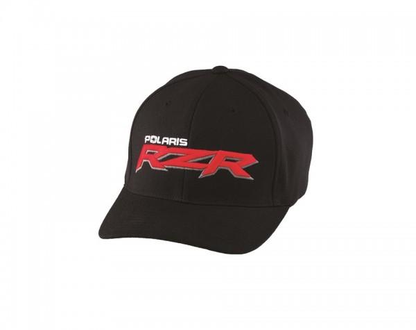 RZR Logo Cap schwarz/rot L-XL