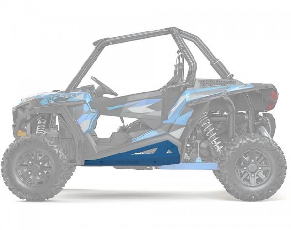 RZR Rock Sliders Low Profile Velocity Blue