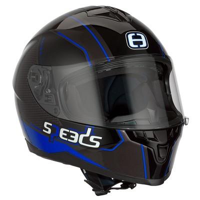 SPEEDS RACE II Grafik schwarz/titan/blau