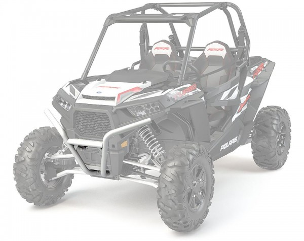 RZR Frontbumper Low Profile Bright White